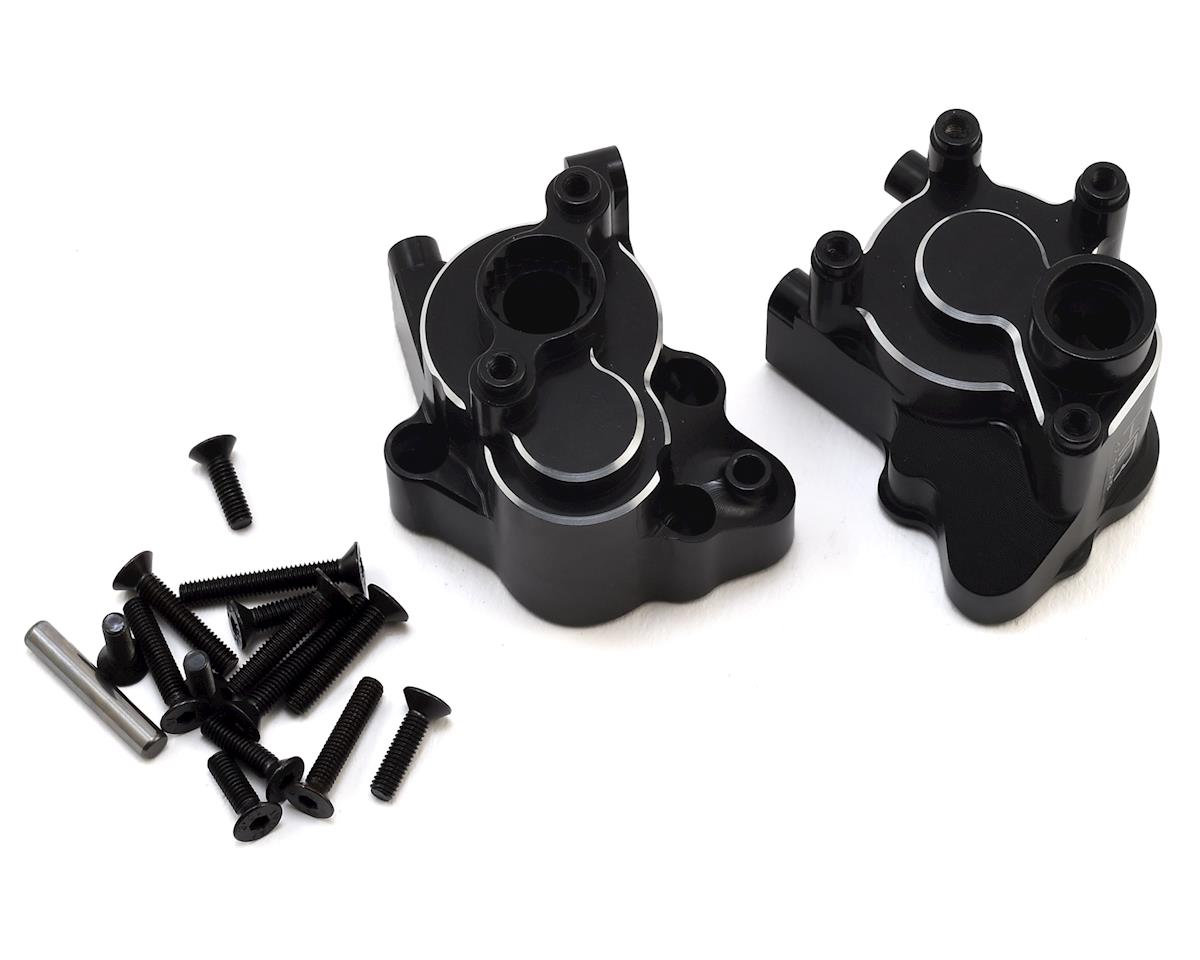 Hot Racing Axial Yeti Aluminum Transmission Case (Black)