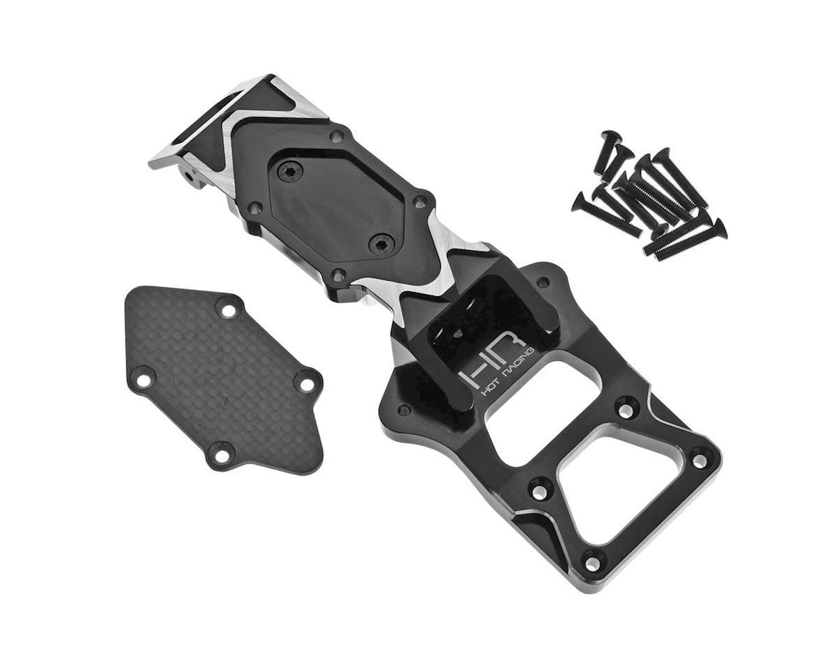Hot Racing Aluminum & Carbon Fiber Front Bulkhead/Skid Plate Set (Axial Yeti XL)