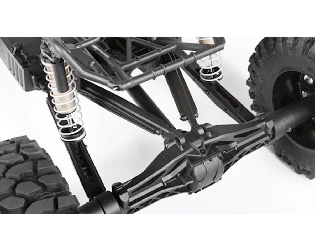 Hot Racing Axial Yeti XL Aluminum Rear Lower Link Set (Black) (2)