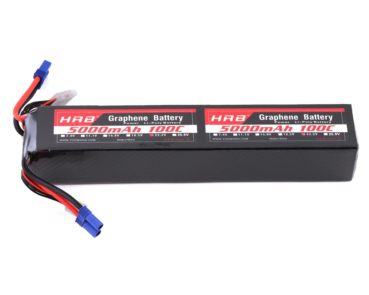 HRB 12S 100C Graphene LiPo Battery (44.4V/5000mAh)