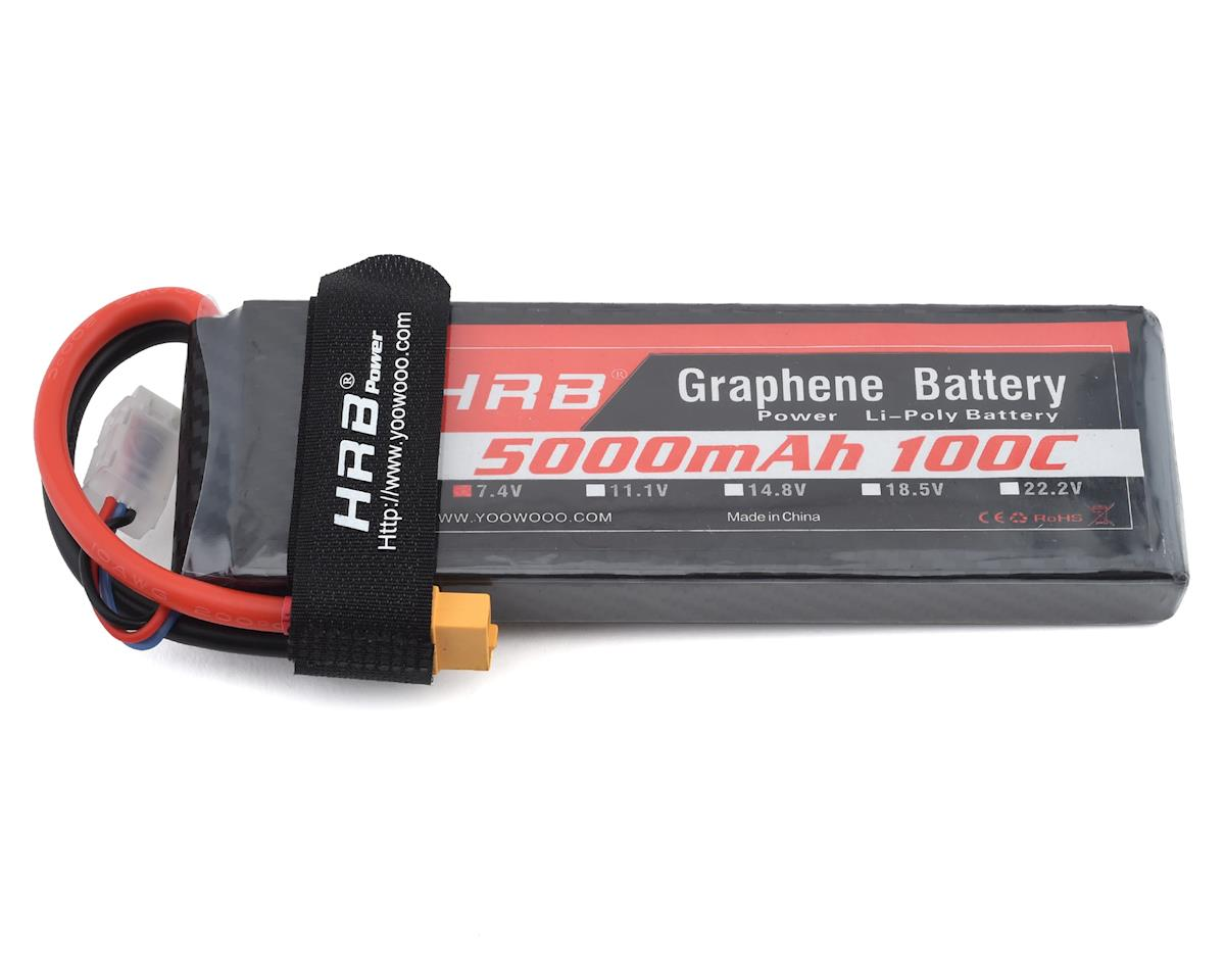 HRB 2S 100C Graphene LiPo Battery (7.4V/5000mAh)