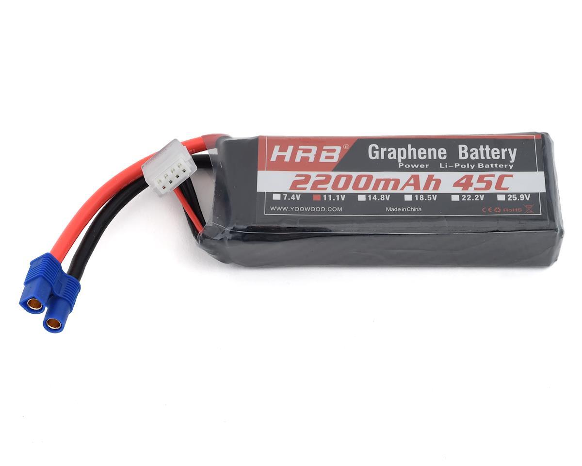 Image 1 for HRB 3S 45C Graphene LiPo Battery (11.1V/2200mAh)
