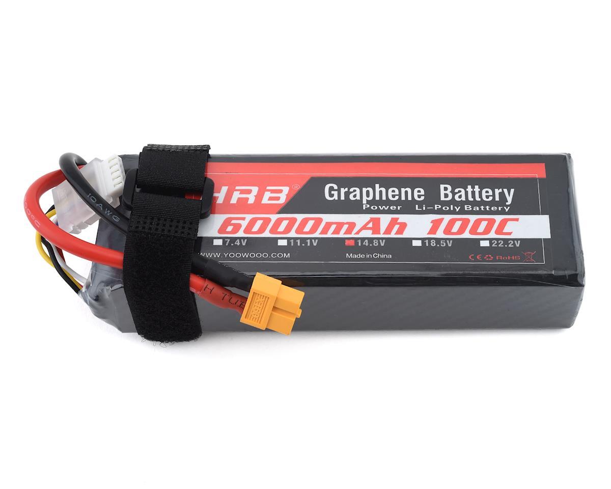 HRB 4S 100C Graphene LiPo Battery (14.8V/6000mAh)
