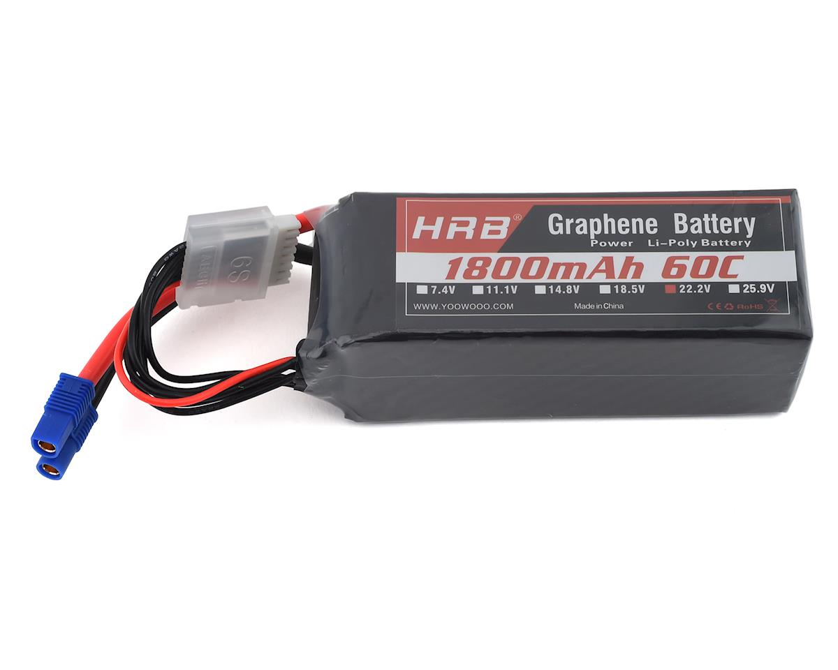 HRB 6S 60C Graphene LiPo Battery (22.2V/1800mAh)