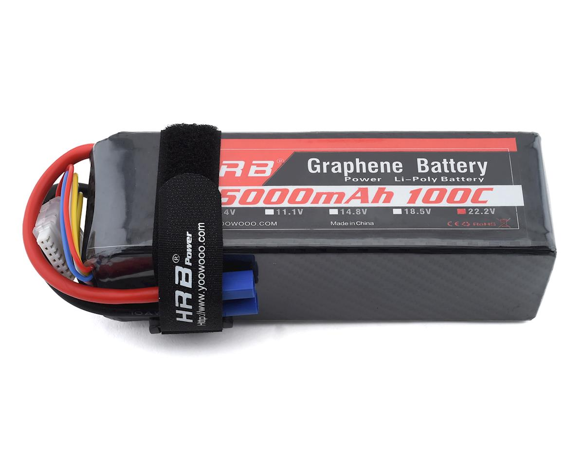 HRB 6S 100C Graphene LiPo Battery (22.2V/5000mAh)