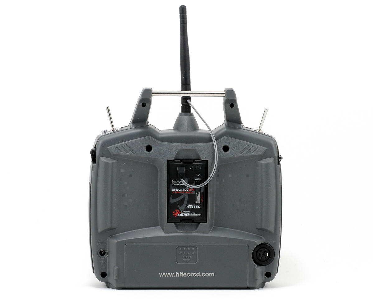 Hitec Optic 6 2.4GHz Transmitter w/Optima 7 Receiver & 4-HS-325HB Servos