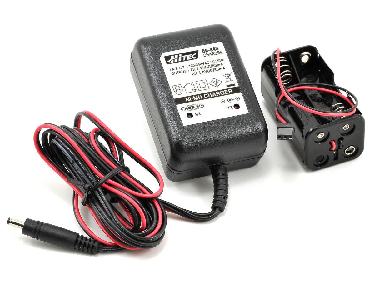 Hitec Optic 6 Sport 2.4GHZ Transmitter w/2 Optima 6 Receivers (No Servos)