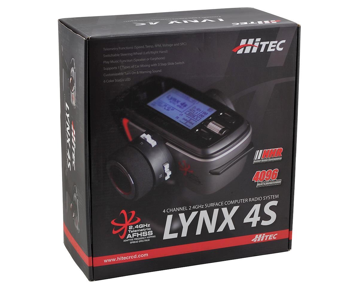 Hitec Lynx 4S 2.4GHz Radio System w/Proton Telemetric Receiver