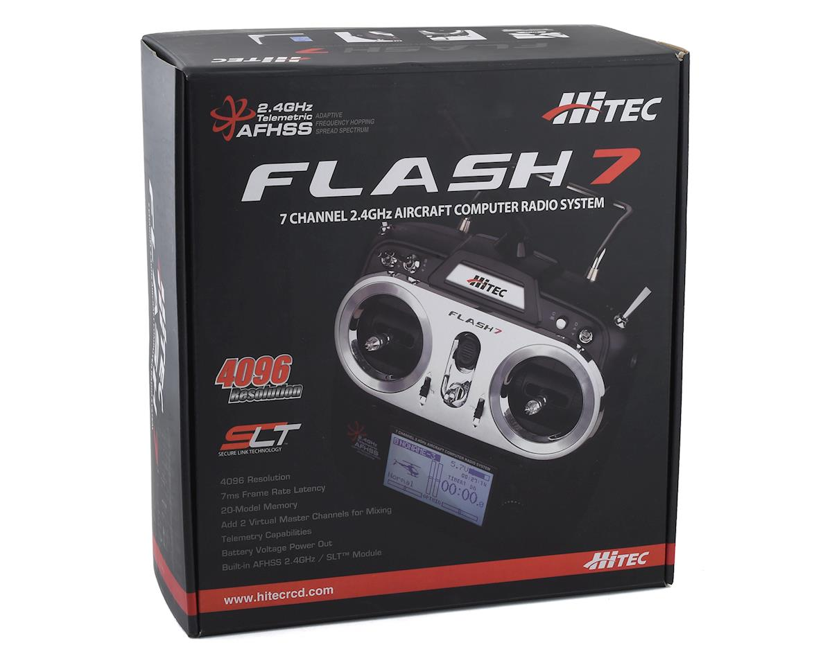 Hitec Flash 7 7-Channel 2.4GHz Aircraft Radio System (Transmitter Only)