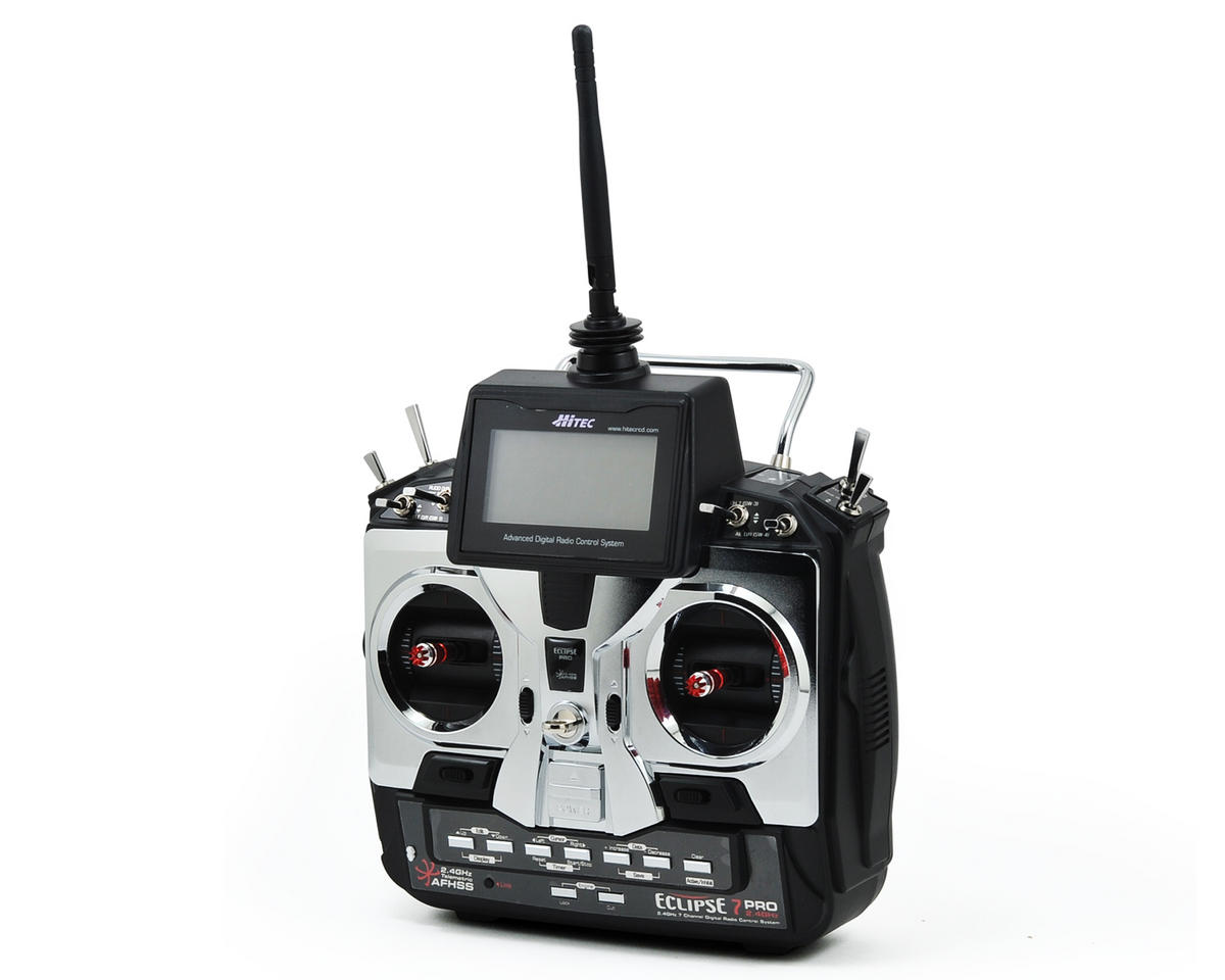 Hitec Eclipse 7 Pro 2.4GHz Transmitter w/Optima 7 Receiver (No Servos)