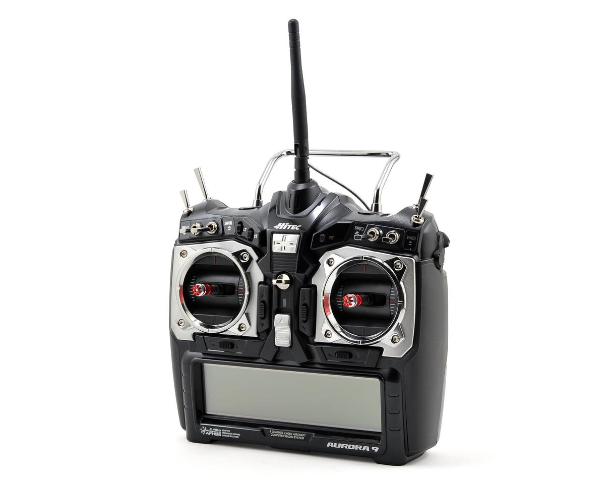 Aurora 9 2.4GHz Aircraft Radio System w/Optima 7 Receiver (No Servos)