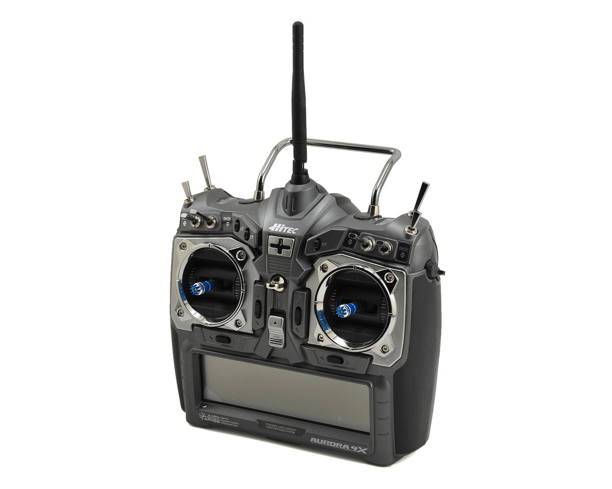 Hitec Aurora 9X 2.4GHz Aircraft Radio System w/Optima 7 Receiver (No Servos)