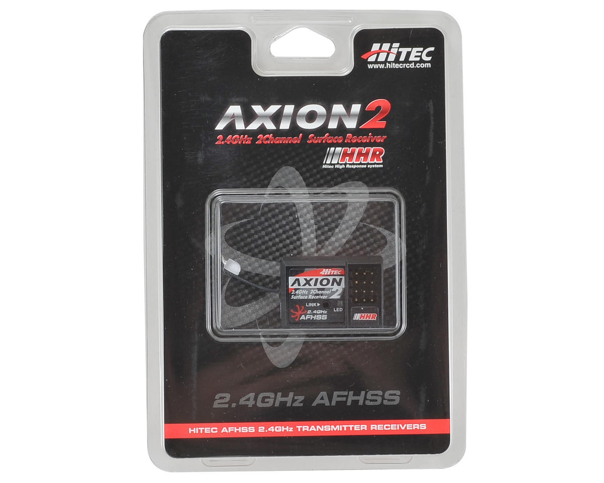 "Hitec ""Axion 2"" 2-Channel 2.4GHz Micro HHR Receiver"