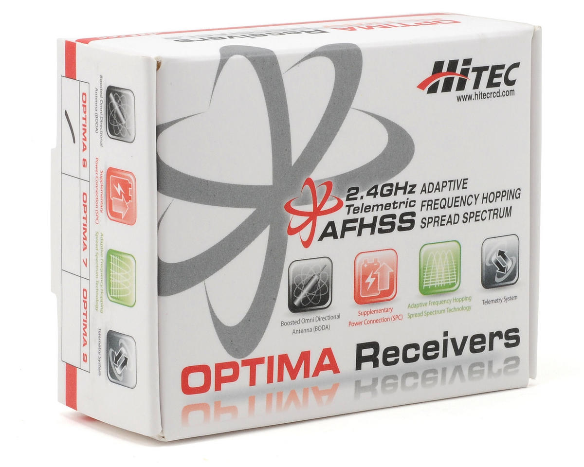 "Hitec ""Optima 6"" 6 Channel 2.4GHz Receiver"