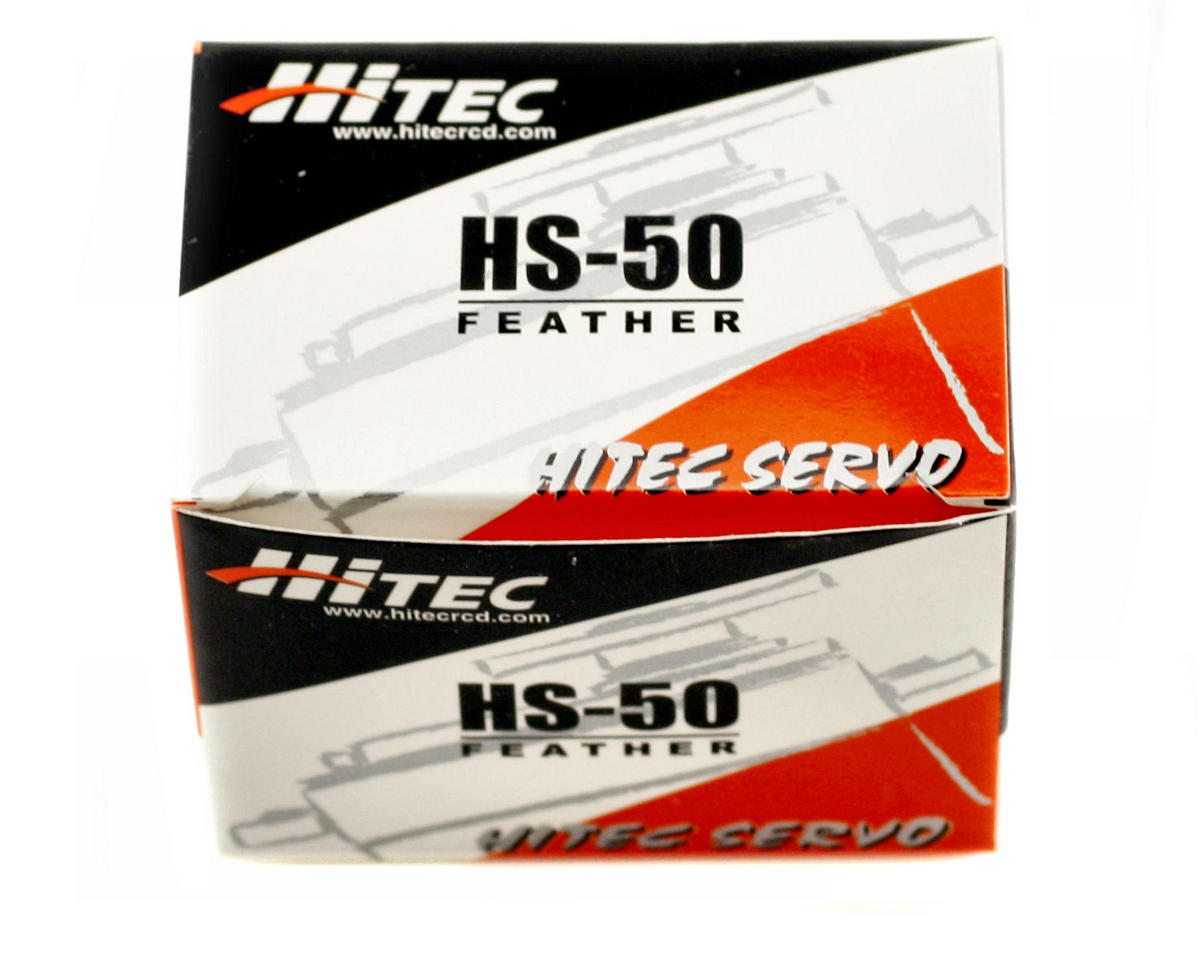Image 2 for Hitec HS-50 Feather Servo