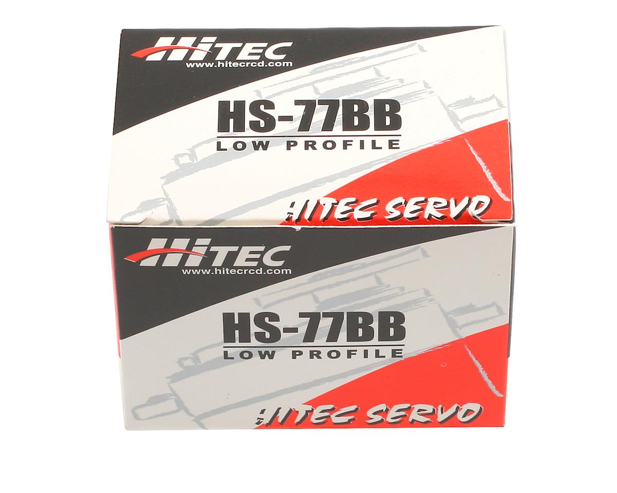 Hitec HS-77 Low Profile Ball Bearing Servo
