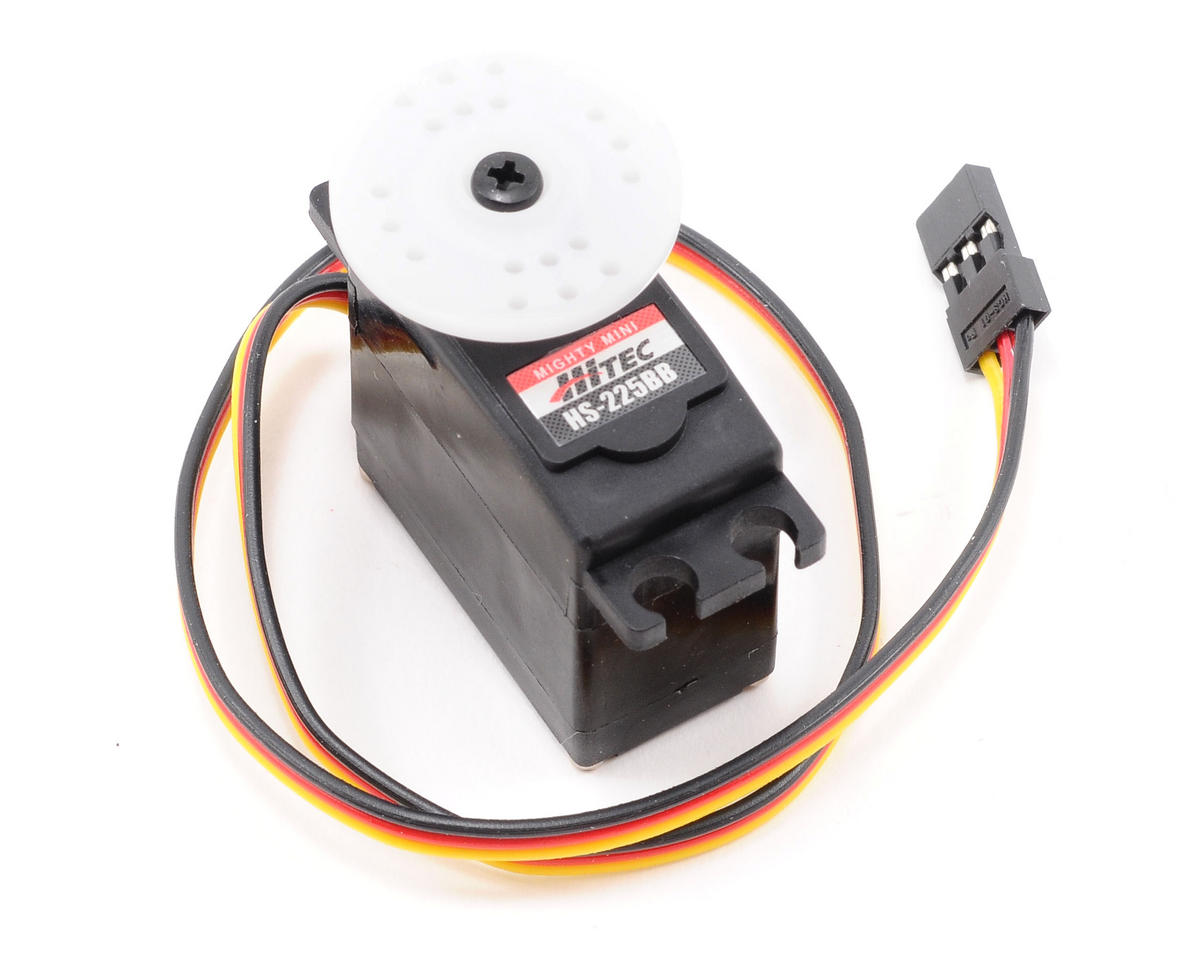 HS-225BB Mighty Mini Ball Bearing Servo (S/JR/Z)