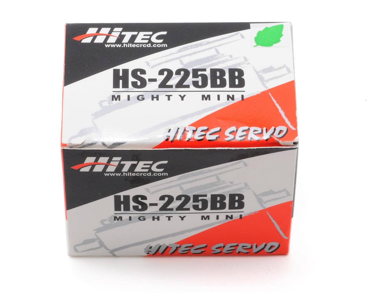 Hitec HS-225BB Mighty Mini Ball Bearing Servo (S/JR/Z)