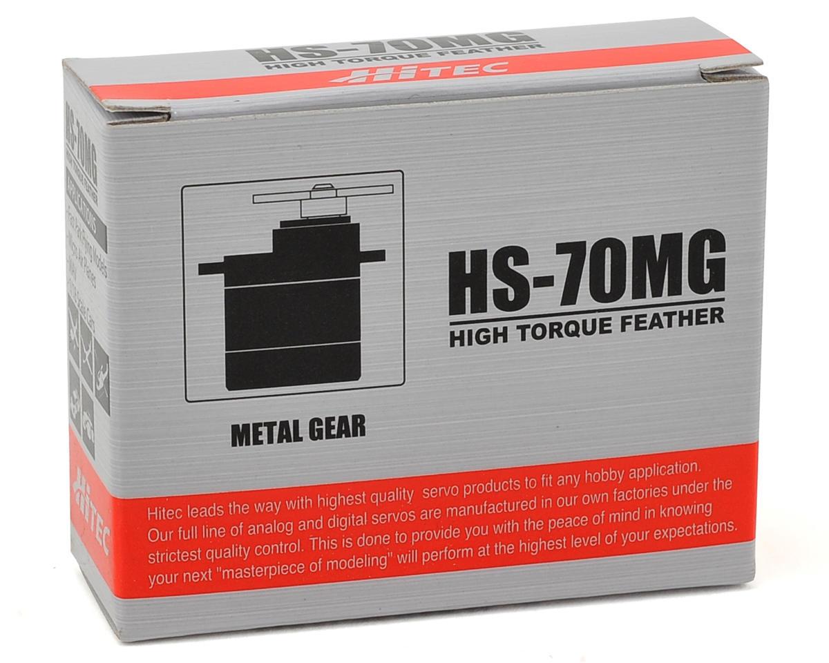 Hitec HS-70MG Analog Ultra Torque Metal Gear Feather Servo