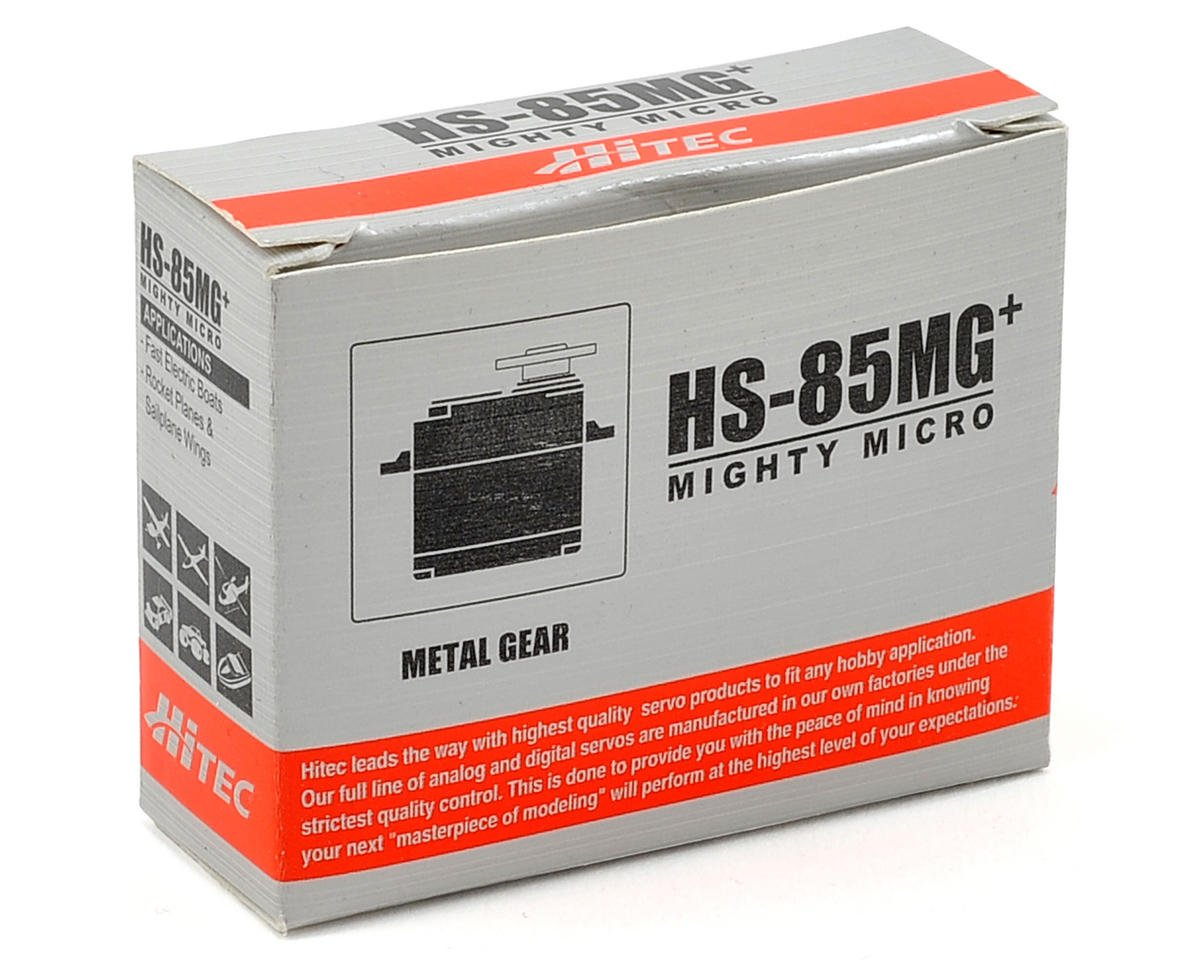 Hitec HS-85MG Mighty Micro Metal Gear Ball Bearing Servo