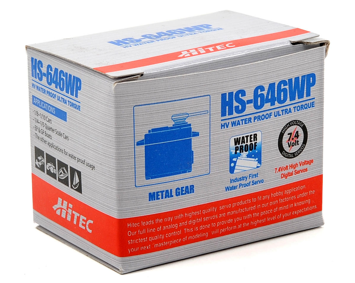 HS-646WP Standard High-Voltage Metal Gear Ultra Torque Analog Servo by Hitec