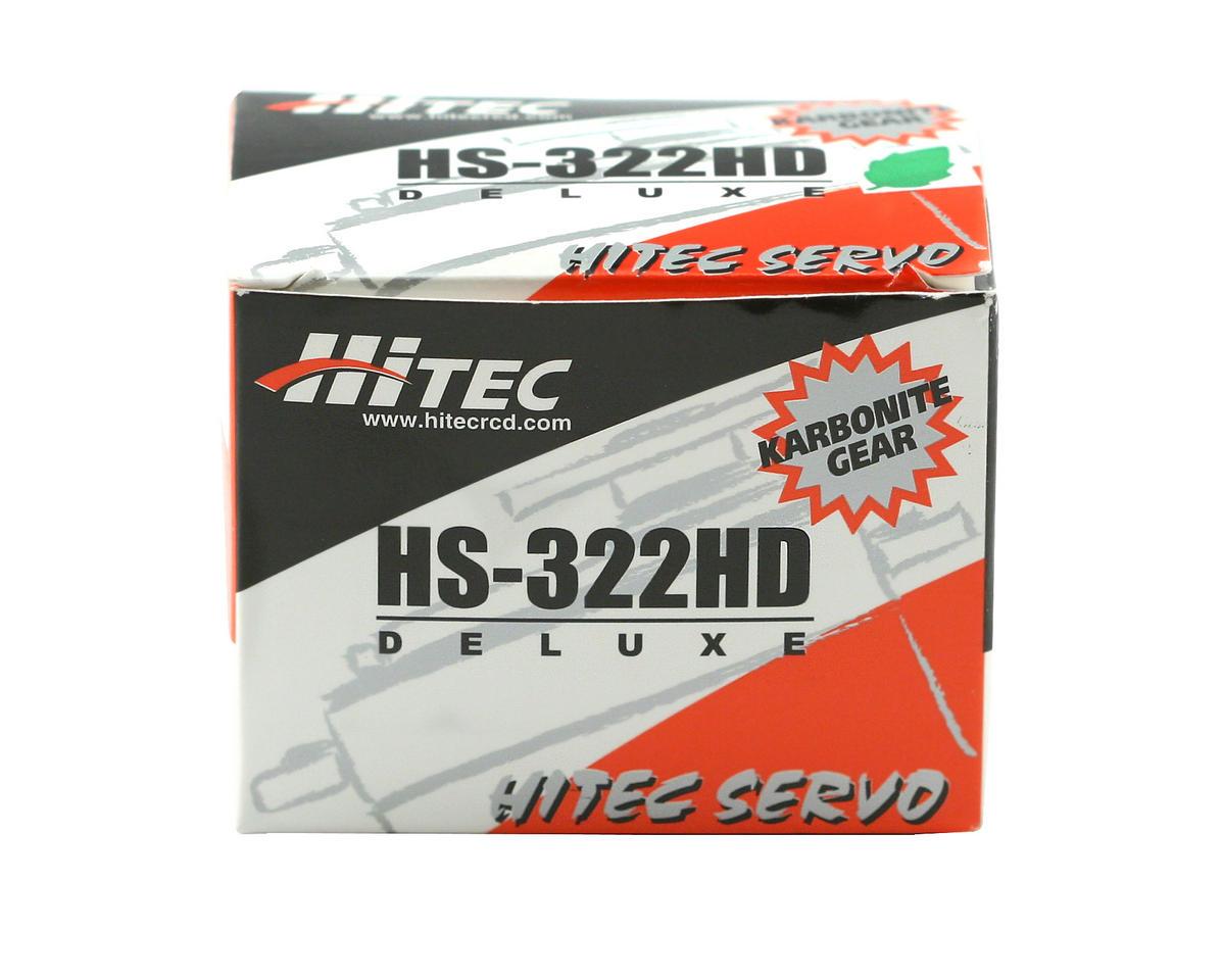 HS-322HD Standard Heavy Duty Servo by Hitec