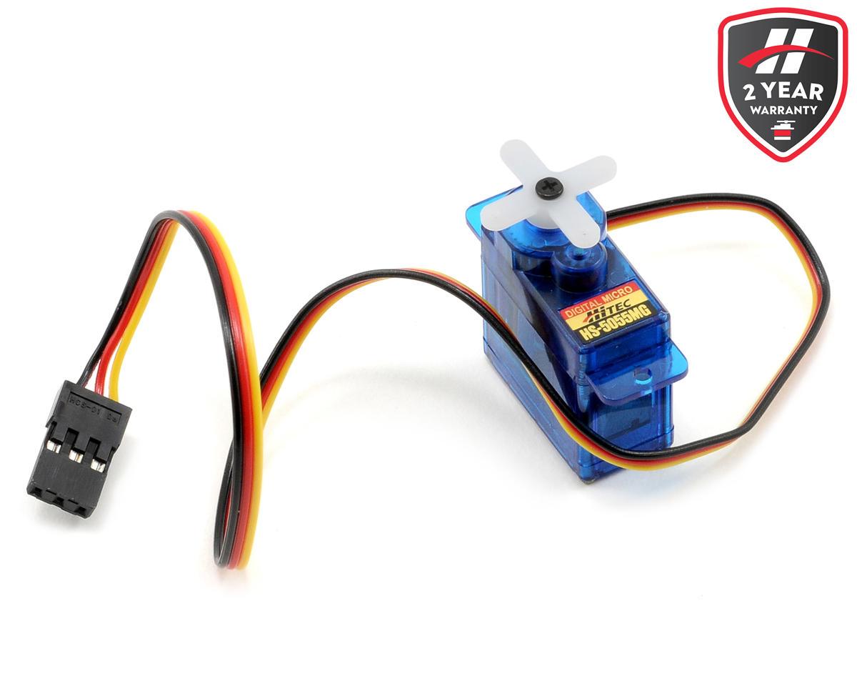 Hitec Hs 5055mg Digital Metal Gear Sub Micro Servo Hrc35055s 2900rpm Custom Flat Printed Circuit Board Motor 180w For Cars Trucks Amain Hobbies