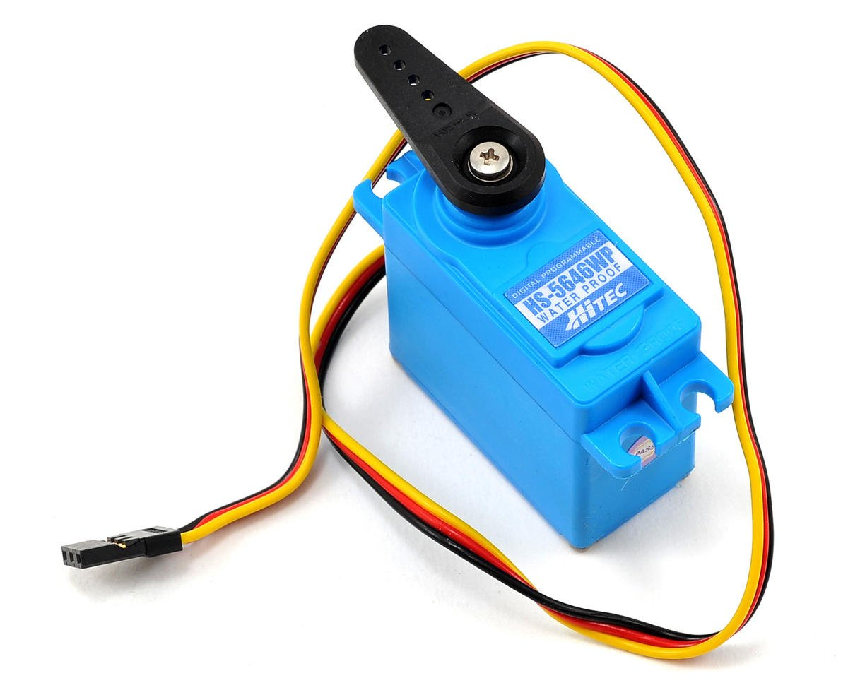 HS-5646WP High Voltage Waterproof Metal Gear Digital Servo by Hitec