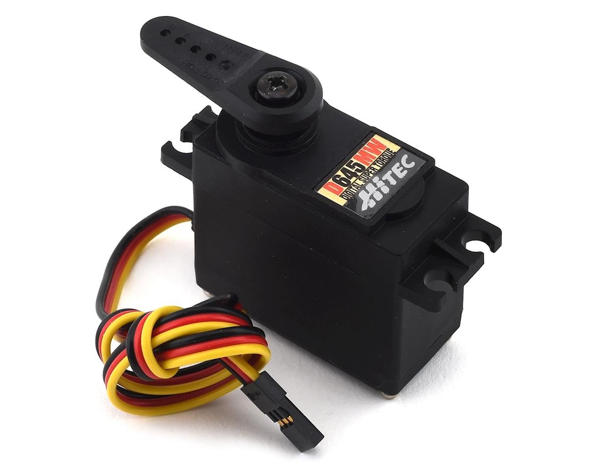 Hitec D645MW High Torque Metal Gear Servo (High Voltage)