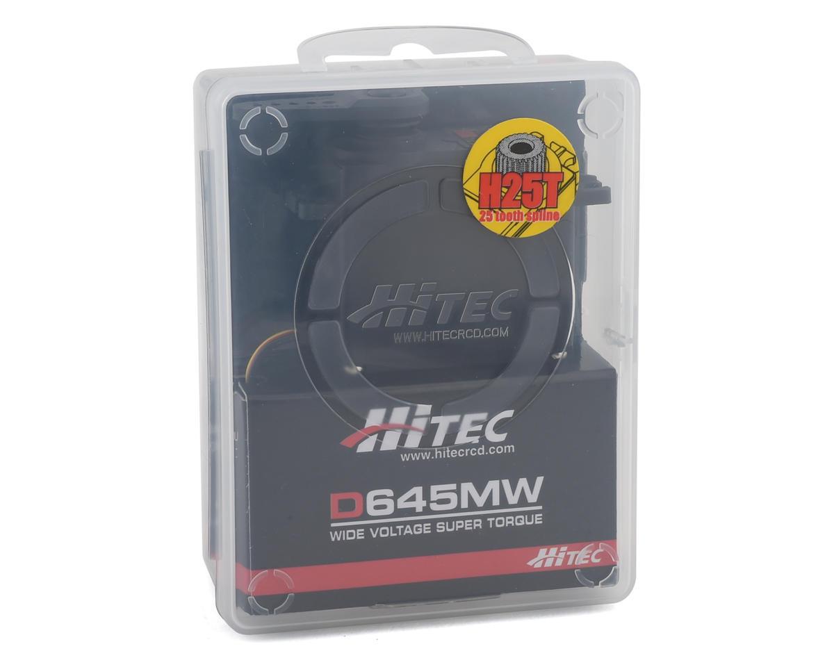 Image 3 for Hitec D645MW High Torque Metal Gear Servo (High Voltage)