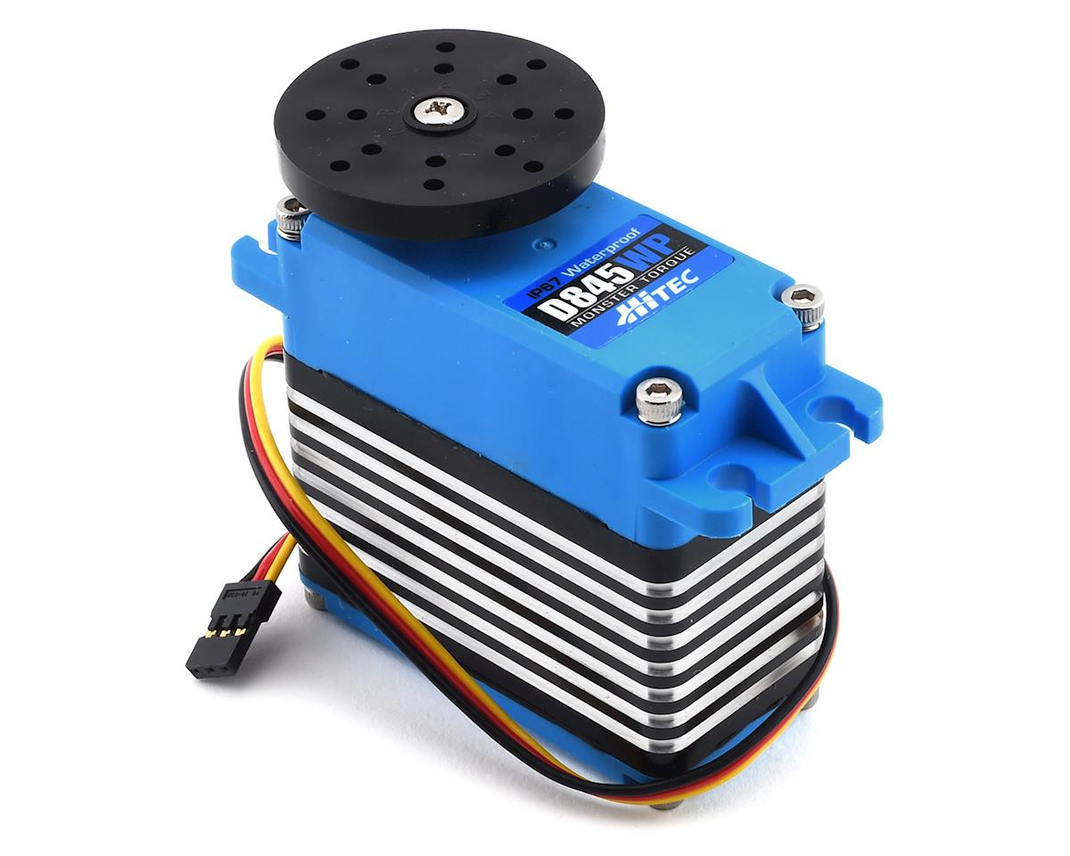D845WP Waterproof Monster Torque Steel Gear Servo (High Voltage) by Hitec