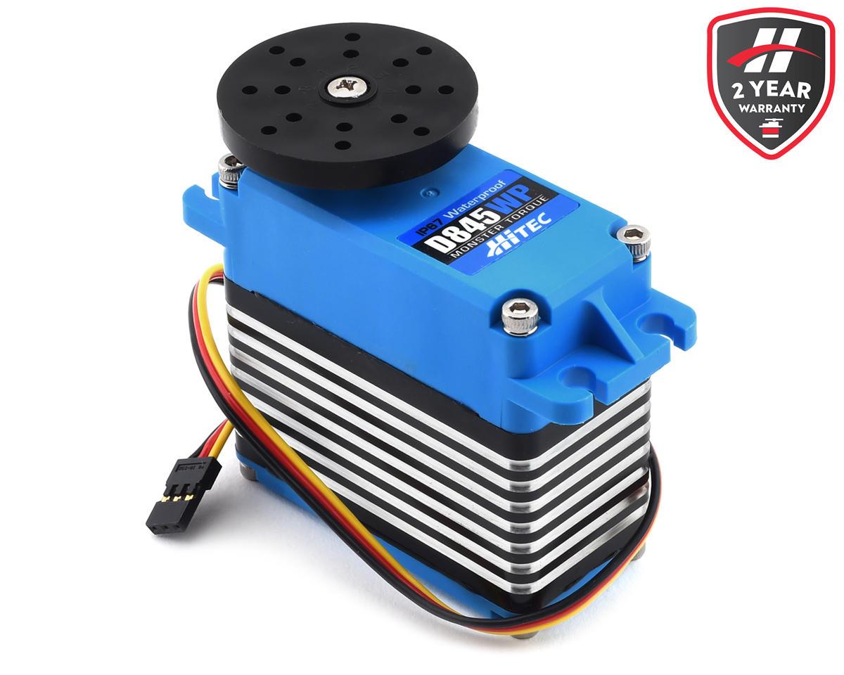 Hitec D845WP Waterproof Monster Torque Steel Gear Servo (High Voltage)
