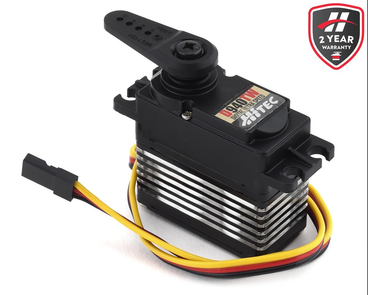 Hitec D940TW D-Series Ultra Torque Titanium Gear Digital Servo (High-Voltage)