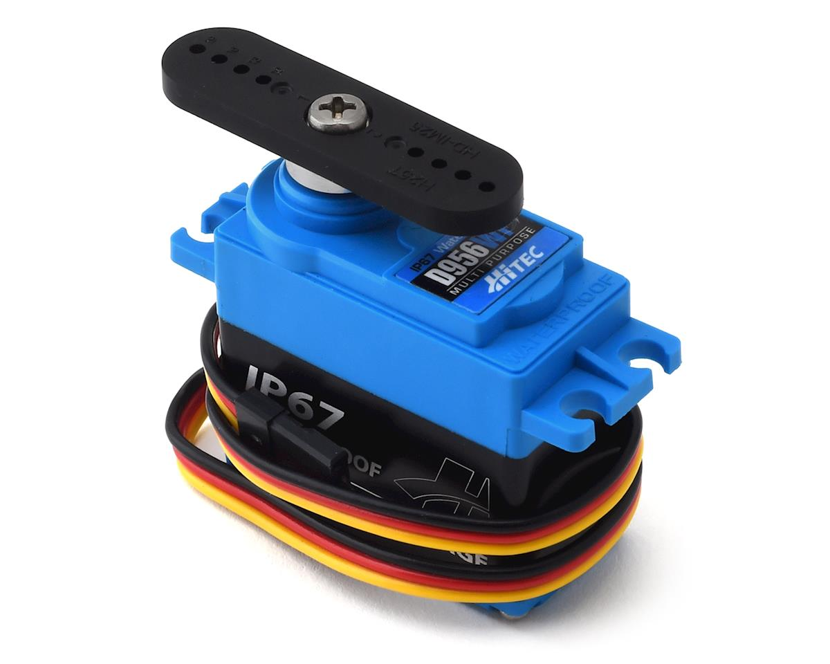 Hitec D956WP D-Series Waterproof Metal Gear Digital Servo (High Voltage)