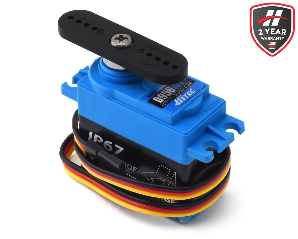 Hitec D956WP D-Series Waterproof Metal Gear Digital Servo (High Voltage) | alsopurchased