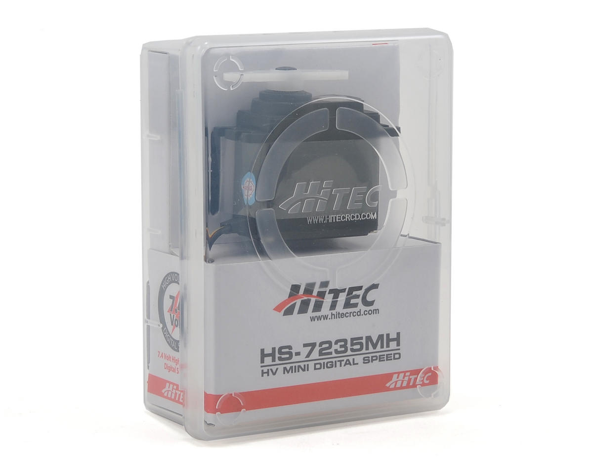 "HS-7235MH Hi-Voltage ""Hi-Speed"" Metal Gear Digital Mini Servo by Hitec"