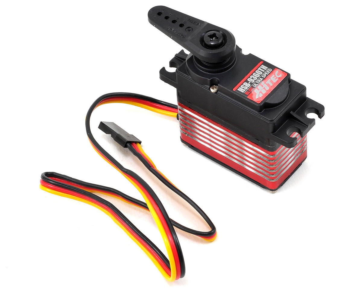HSB-9360TH High Speed Brushless Titanium Gear Servo w/PAD (High Voltage)