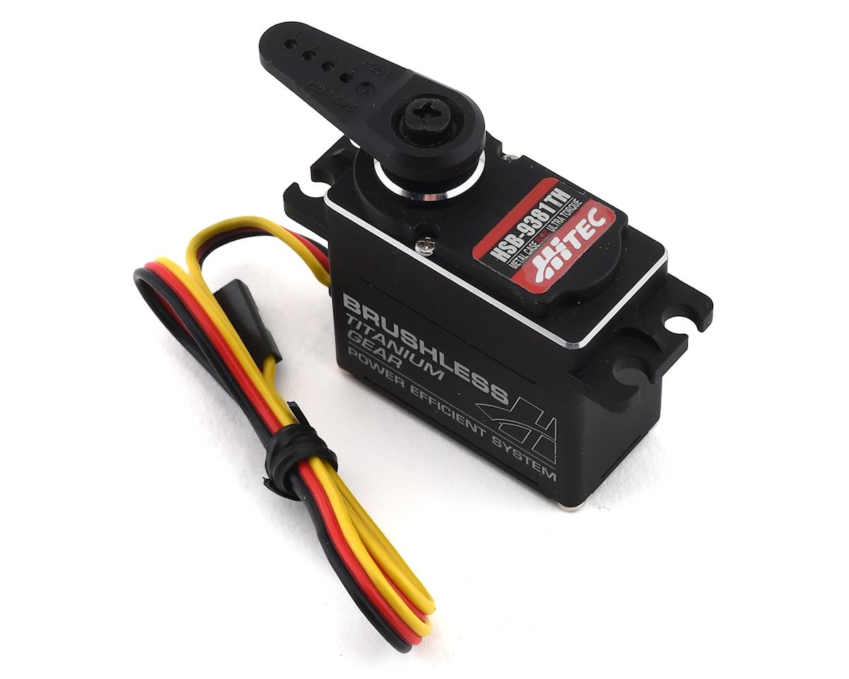 Hitec HSB-9381TH Ultra Torque Brushless Titanium Gear Servo (High Voltage) | relatedproducts