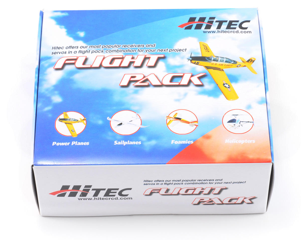 Hitec Mini Helicopter Flight Pack w/Gyro