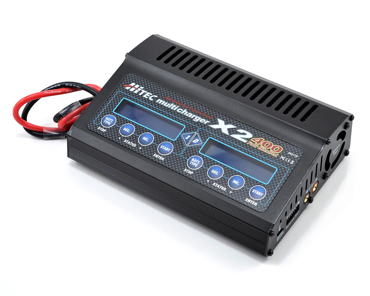 X2-400 2 Channel DC Multi-Charger (6S/20A/400W x 2)