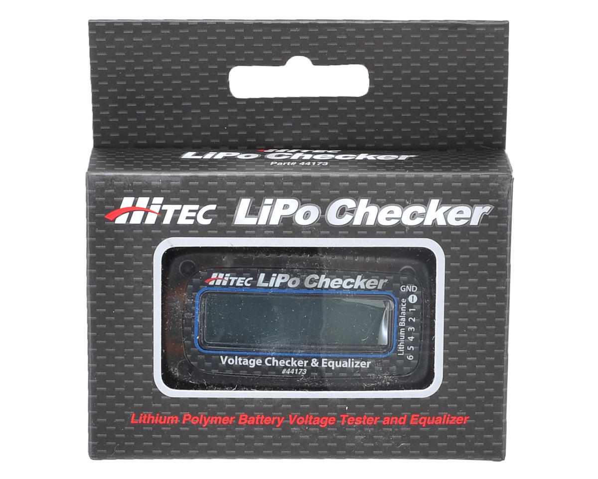 Hitec LiPo Battery Voltage Checker & Equalizer