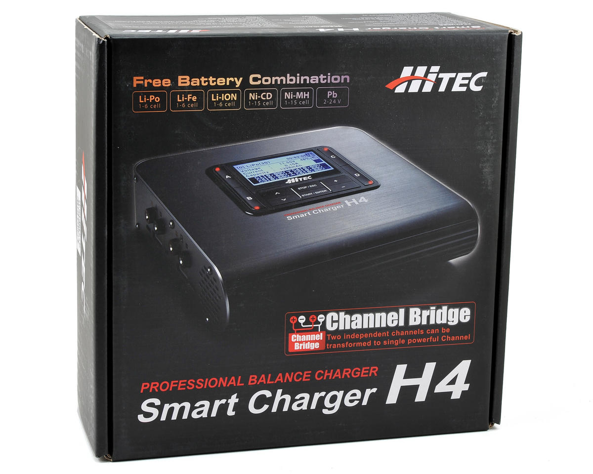 Hitec H4 DC 4 Port DC Battery Charger (6S/8A/120W)