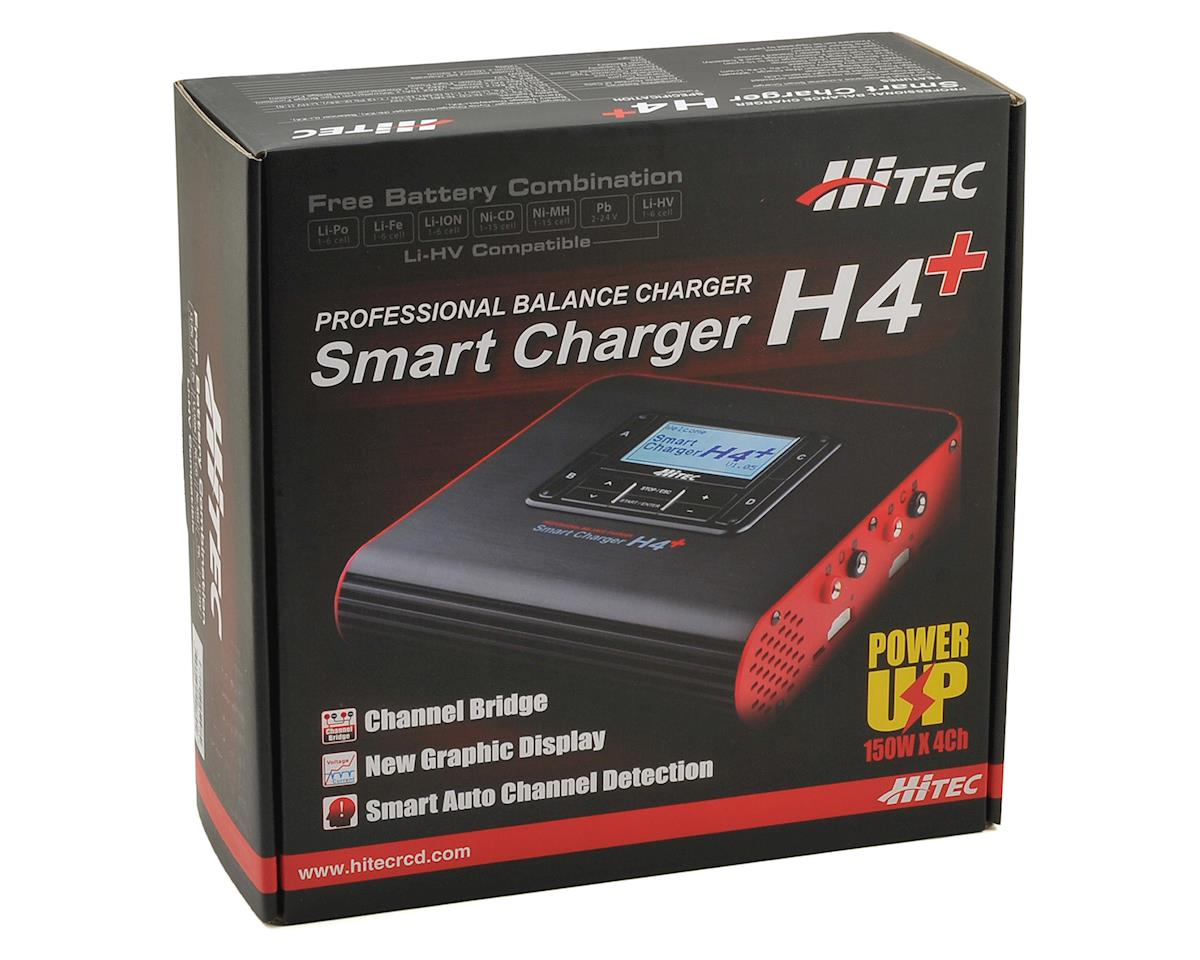 H4 Plus 4 Port DC Battery Charger (6S/8A/150W) by Hitec