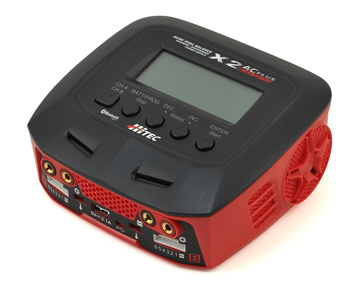 Hitec X2 AC Plus Black Edition AC/DC Multi-Charger (6S/6A/150W)