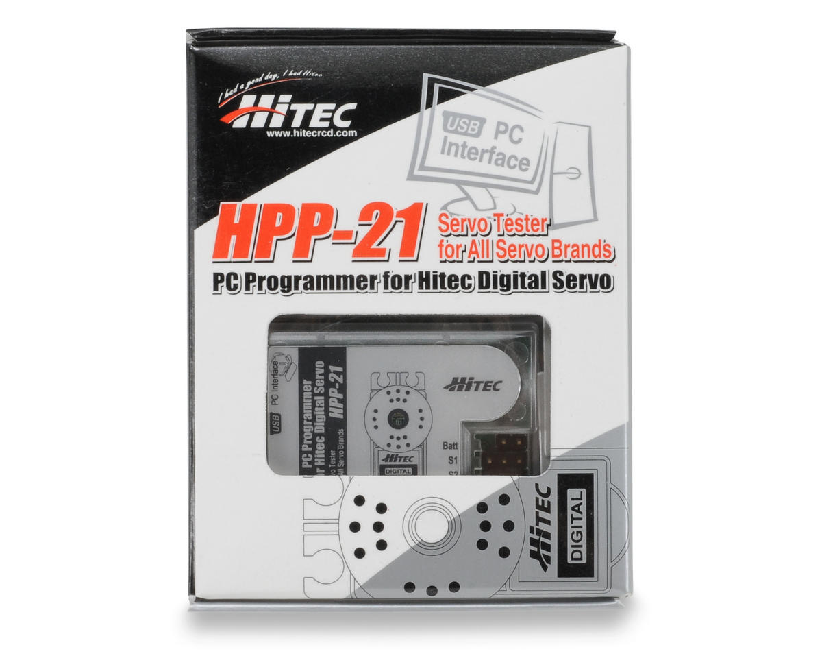 Hitec HPP-21 PC Digital Servo Programmer