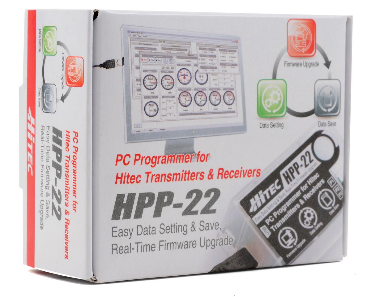Hitec HPP-22 PC Interface Programmer