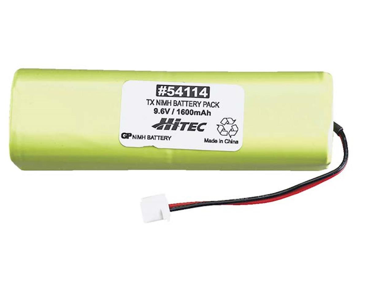 Tx Battery 9.6V 1600mAh NiMH: Flash, Laser,Eclipse by Hitec