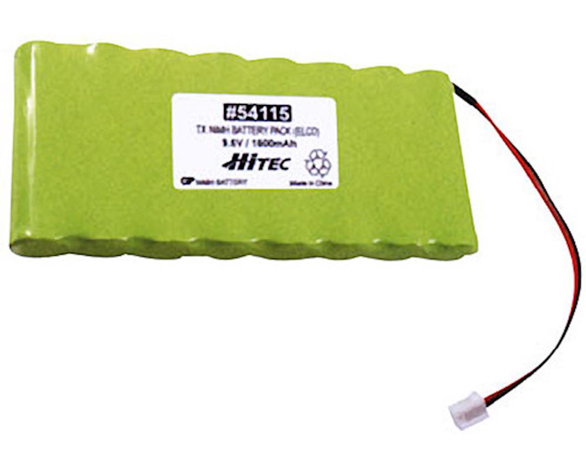 Hitec Transmitter Battery,9.6V,1600mAh NiMH:Focus,Lynx3D