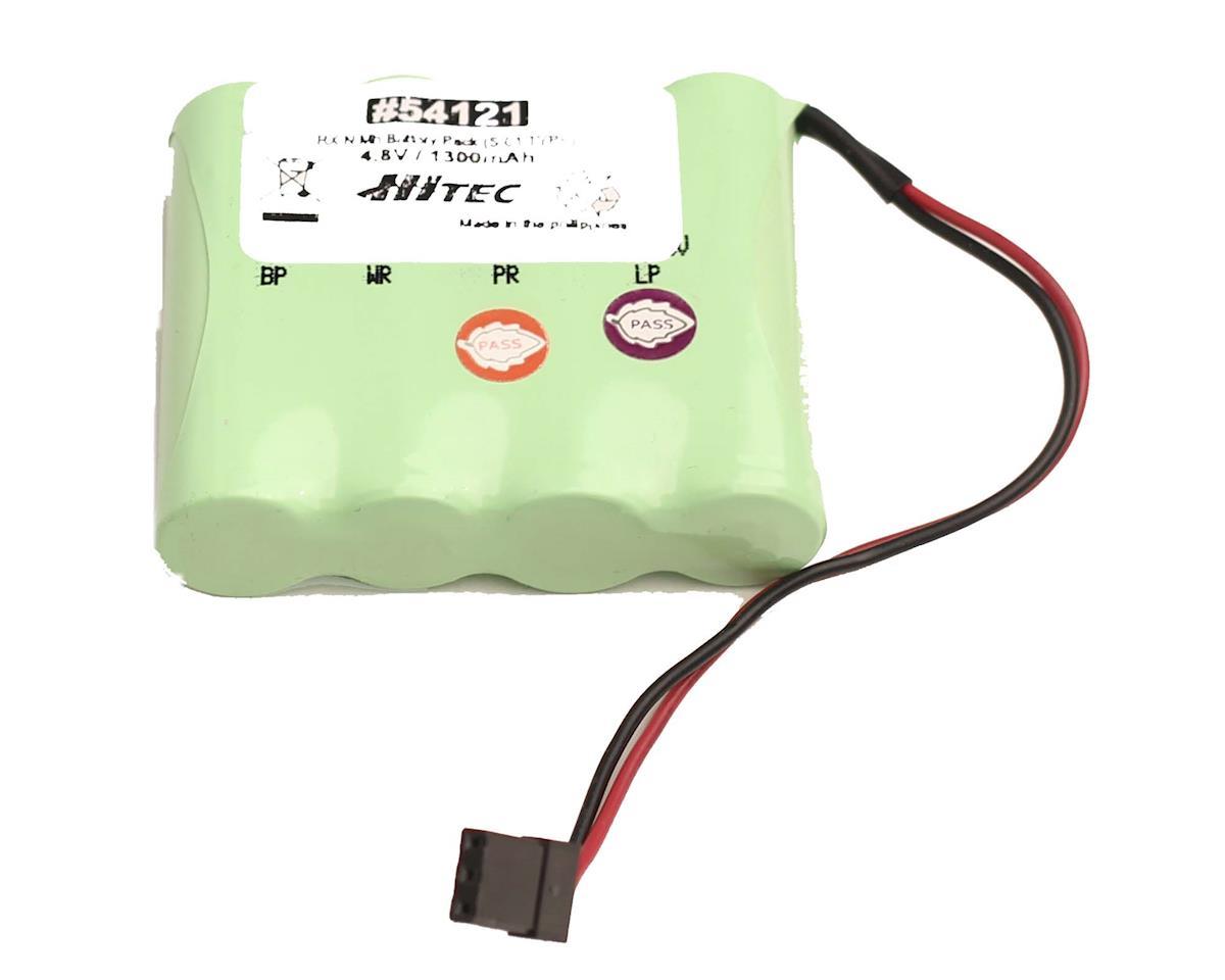"""Hitec 54121 1300mAh 4.8V Flat Pack (""""S"""" Connector)"""