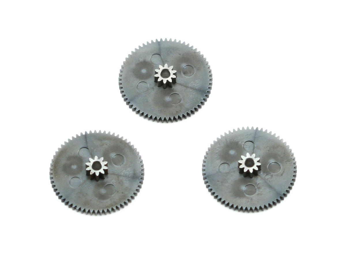 Hitec Replacement Metal/Karbonite 1st Gear Set (3) (5955/5995/5996/5997)